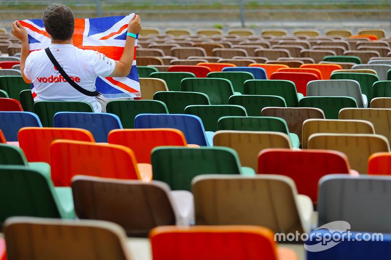Ein britischer Fan