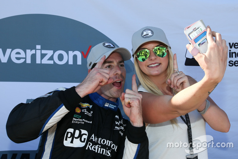 Simon Pagenaud, Team Penske Chevrolet pole winner