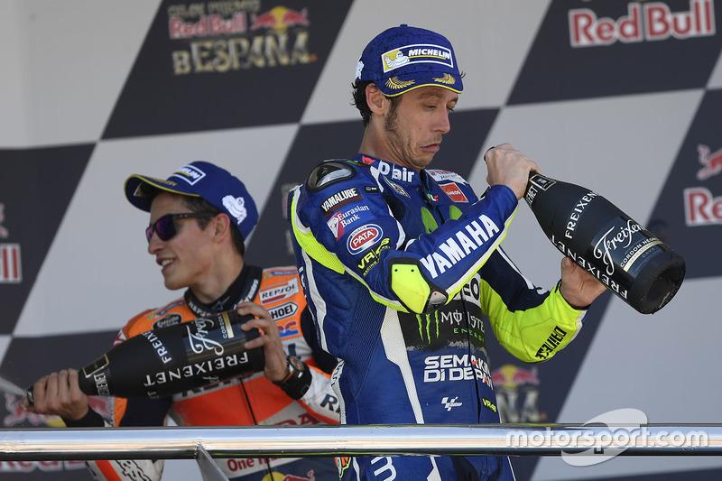 Marc Marquez et Valentino Rossi