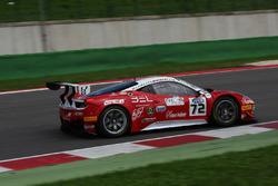 Cheever-leo, Scudeia Baldini Racing, Ferrari 458 Italia #72