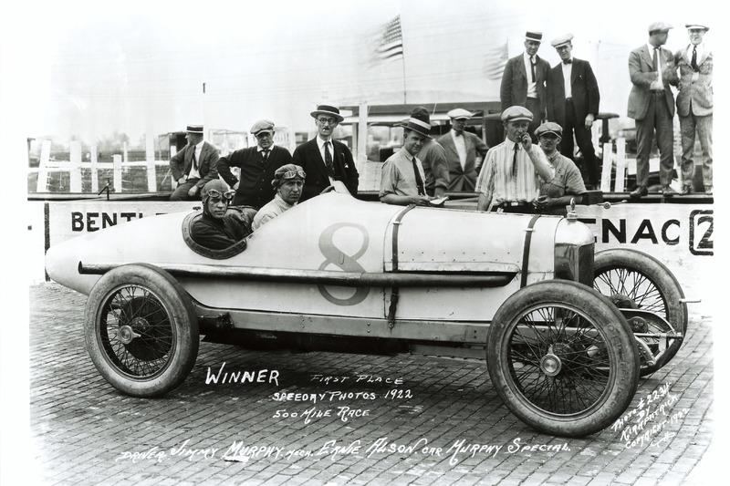 Race winner Jimmy Murphy