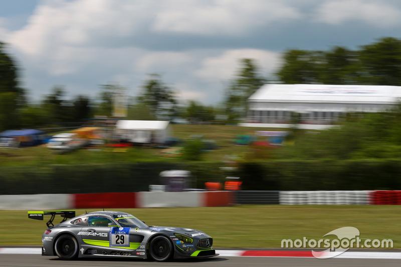 #29 HTP Motorsport Mercedes-AMG GT3: Christian Vietoris, Marco Seefried, Christian Hohenadel, Renger