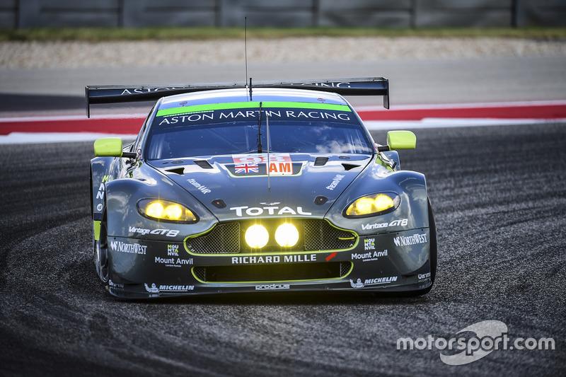1. GTE-Am: #98 Aston Martin Vantage GTE: Paul Dalla Lana, Pedro Lamy, Mathias Lauda