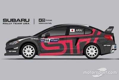 スバルWRX STIラリークロスカー(新井敏弘車)