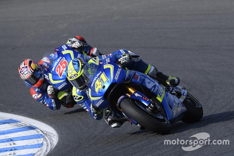 Aleix Espargaro, Team Suzuki Ecstar MotoGP, Maverick Viñales, Team Suzuki Ecstar MotoGP