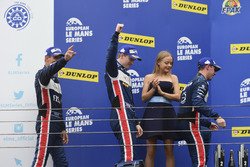 Podium: second place LMP3 #3 United Autosports Ligier JSP3 - Nissan: Matt Bell, Mark Patterson, Wayne Boyd