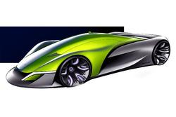 McLaren Halo render
