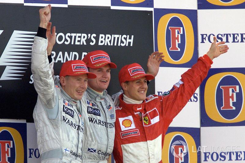 Podium: 1. David Coulthard, McLaren; 2. Mika Häkkinen, McLaren; 3. Michael Schumacher, Ferrari