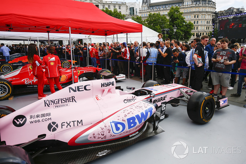 Panggung tim Sahara Force India F1