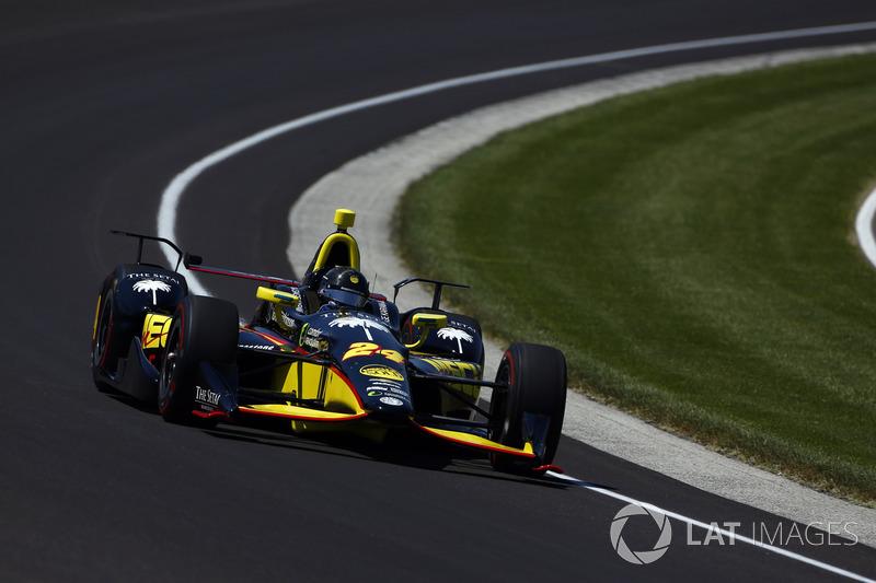 21. Sage Karam, Dreyer & Reinbold Racing Chevrolet