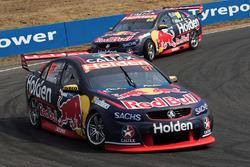 Shane van Gisbergen, Triple Eight Race Engineering, Holden; Jamie Whincup, Triple Eight Race Engineering, Holden