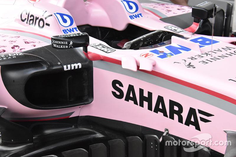 Sahara Force India F1 VJM10 yan detay