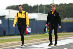 Jolyon Palmer, Renault Sport F1 Team y Jack Clarke