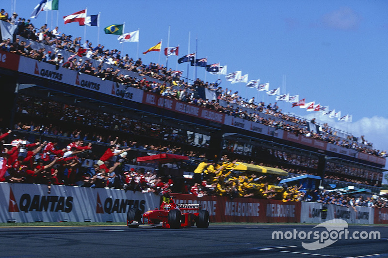 1999. Переможець: Едді Ірвайн, Ferrari