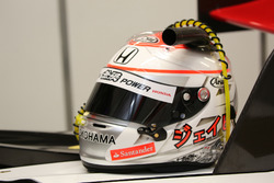 Helm Jenson Button, Team Mugen