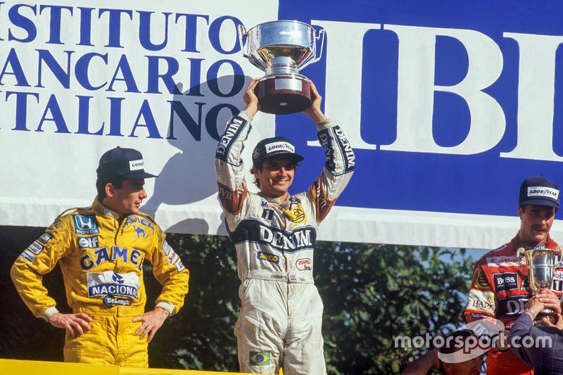 10º Nelson Piquet: 60 podios