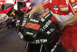 Jorge Lorenzo, Ducati Team nuevo carenado