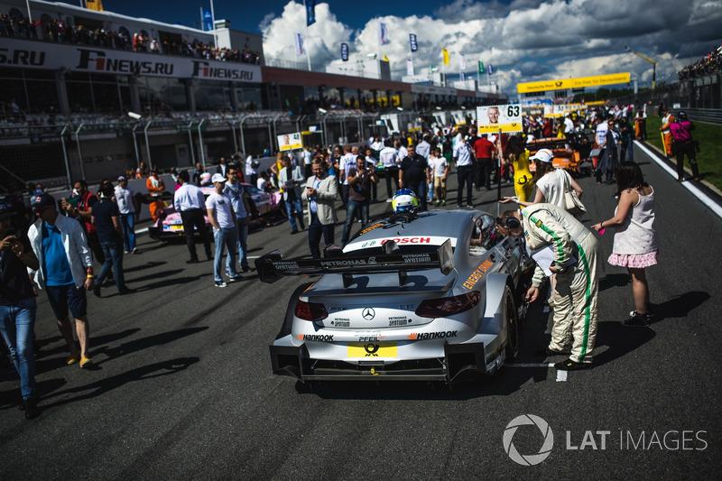 Auto von Maro Engel, Mercedes-AMG Team HWA, Mercedes-AMG C63 DTM
