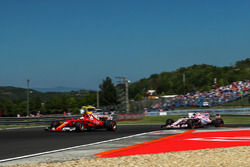 Себастьян Феттель, Ferrari SF70-H, Серхіо Перес, Force India VJM10