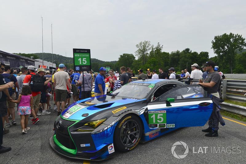 #15 3GT Racing Lexus RCF GT3