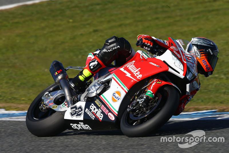 Lorenzo Savadori, Milwaukee Aprilia World Superbike Team