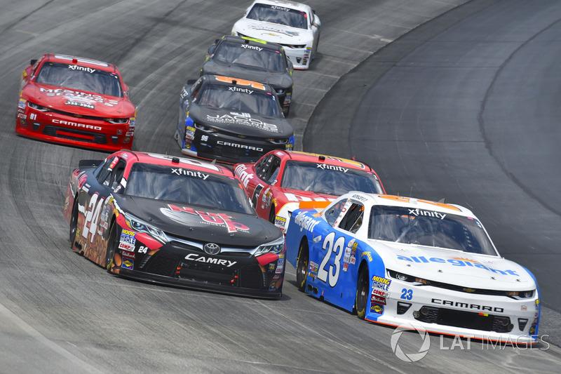 Spencer Gallagher, GMS Racing, Chevrolet; Dylan Lupton, JGL Racing, Toyota