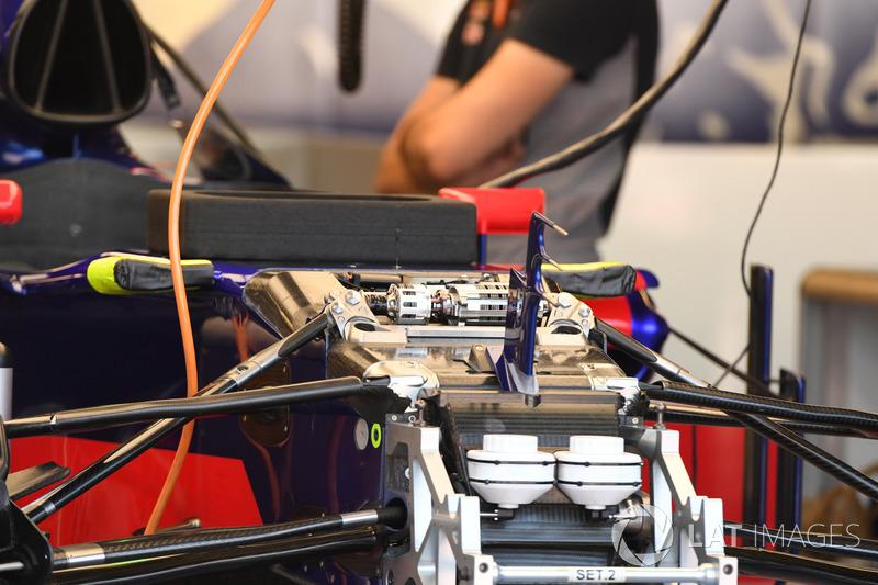 Scuderia Toro Rosso STR12: Aufhängung