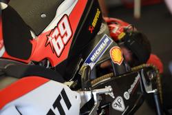 Bike vom Ducati Team mit Startnummer 69 von Nicky Hayden