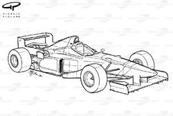 Benetton B196 1996 overview