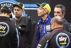 Valentino Rossi, Yamaha Factory Racing, in the SKY VR46 box