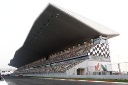 Haupttribüne am Buddh International Circuit in Noida