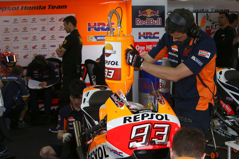 Mechaniker: Repsol Honda Team