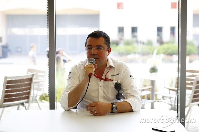 Eric Boullier, McLaren, Rennleiter
