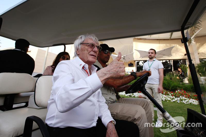 Bernie Ecclestone, président d'honneur de la F1