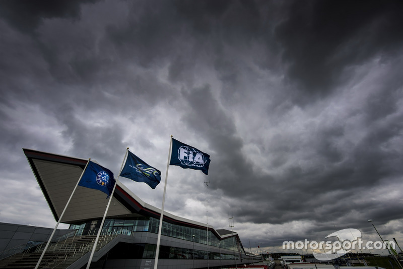 Atmosphere at Silverstone