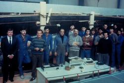 Didier Pironi, Jean Claude Gue_nard with the team