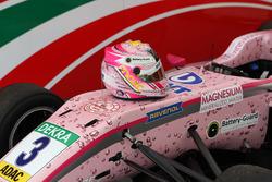 Il casco di Maximilian Günther, Prema Powerteam Dallara F317 - Mercedes-Benz