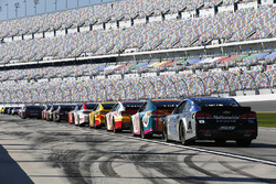 Cars ready to hit the track