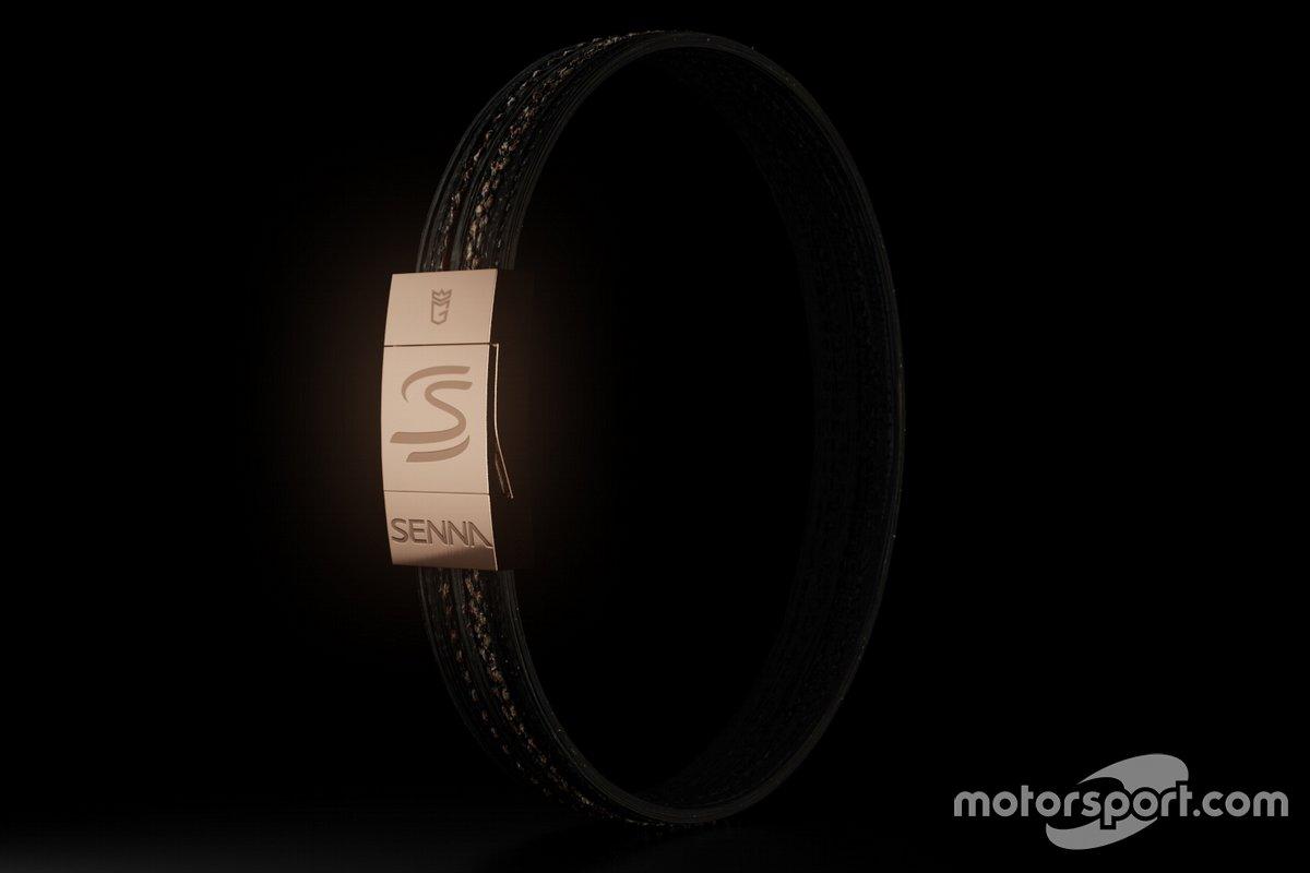 Senna tyre bracelets