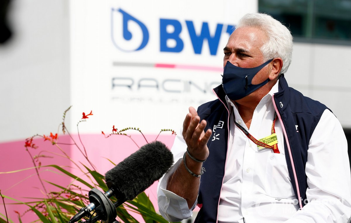 Lawrence Stroll, propietario de Racing Point F1