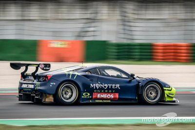 Test de Rossi en Misano