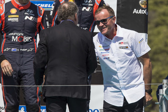 Podium : Tommi Makinen, Toyota Gazoo Racing
