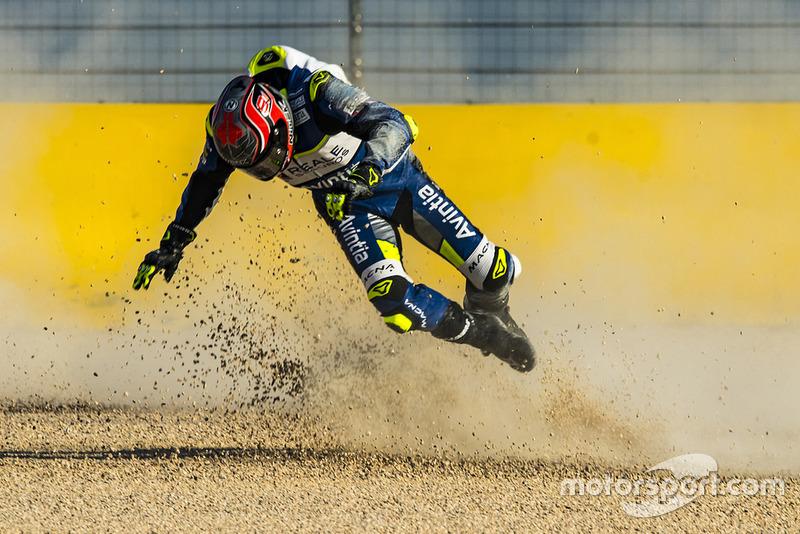 Jordi Torres, Avintia Racing (5 kecelakaan)