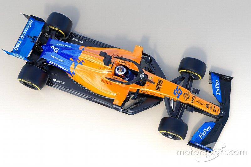 2019. McLaren MCL34 Renault