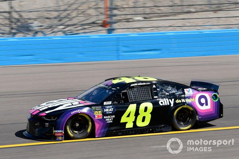 8. Jimmie Johnson, Hendrick Motorsports, Chevrolet Camaro