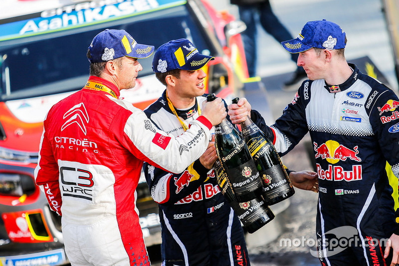 Podium: 1. Sébastien Loeb, Citroën World Rally Team Citroën C3 WRC, 2. Sébastien Ogier, M-Sport Ford WRT; 3. Elfyn Evans, M-Sport Ford WRT
