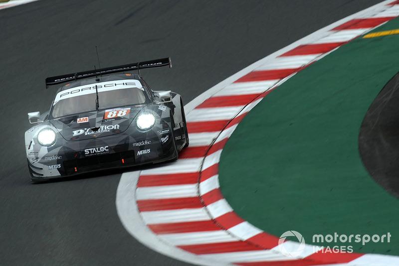 #88 Dempsey Proton Competition Porsche 911 RSR: Matteo Cairoli, Khaled Al Qubaisi, Giorgio Roda