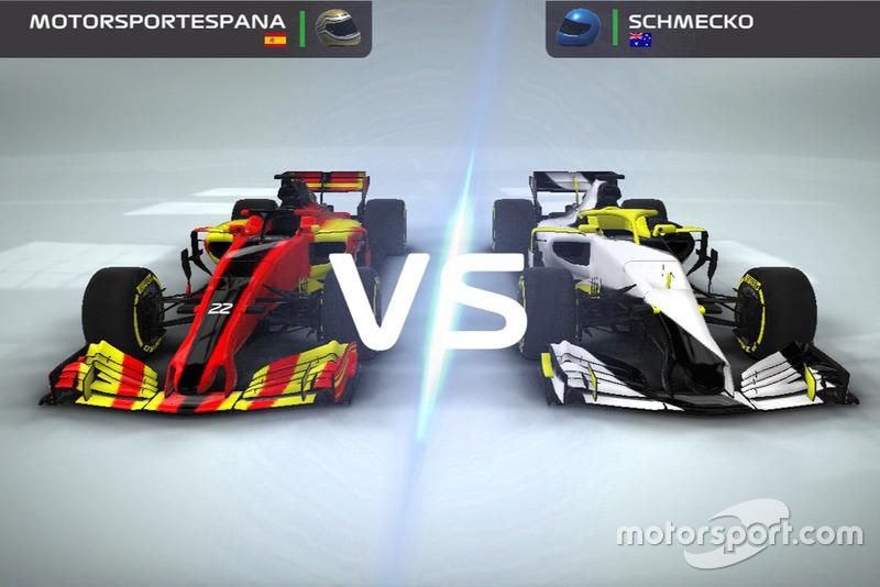 Captura del F1 Mobile Racing