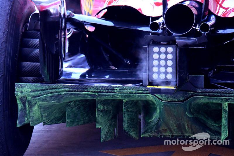 Ferrari technical detail, flo-vis