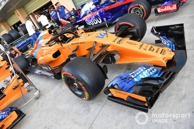 La livrea speciale di Fernando Alonso, McLaren MCL33